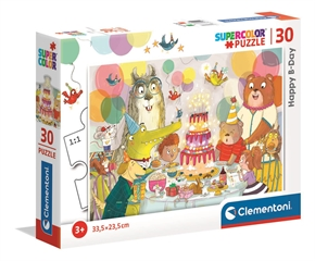 -CLE puzzle 30 SuperKolor Happy B-Day 20264